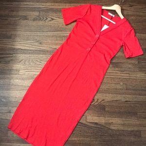 Zara Red long dress!